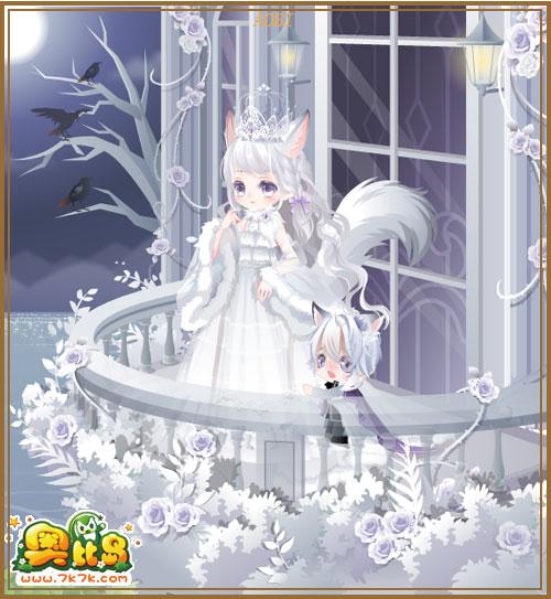 7k7k小游戏 奥比岛 魔力时装  王子的新装系列单品服饰图鉴 女