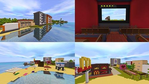 迷你世界微赛事《美妙度假村》优秀作品一览图片