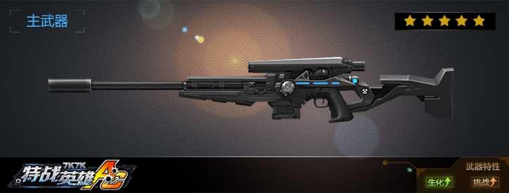 精准狙击武器展示