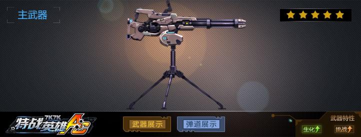 MiniGun-M134武器展示