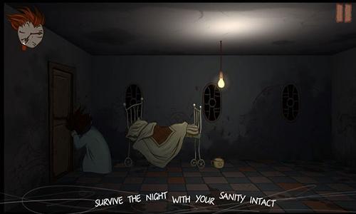 夜半敲门声