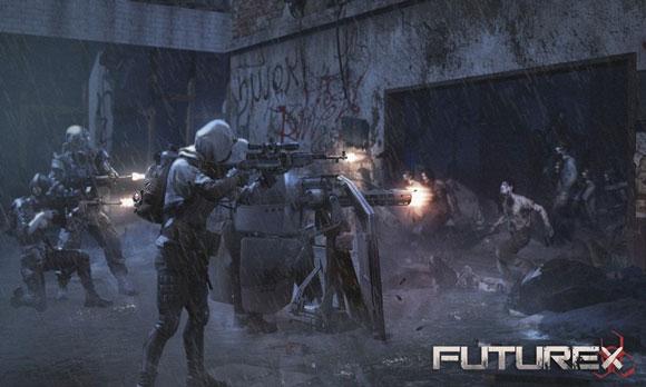《代号:Future X》腾讯末日生存手游