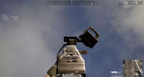 绝地求生侧面瞄具怎么使用攻略 可安装在第二瞄准栏位