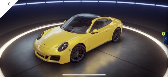 《狂野飙车9:竞速传奇》C车保时捷911 GTS COUPE属性详解