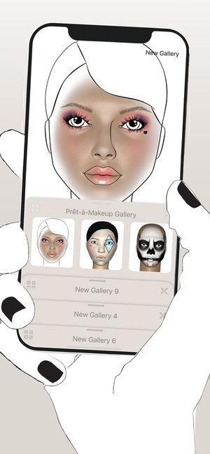 Prêt-à-Makeup化妆
