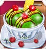 绿茶冰淇淋