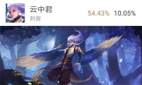 王者荣耀ios体验服抢号开启 云中君胜率登顶