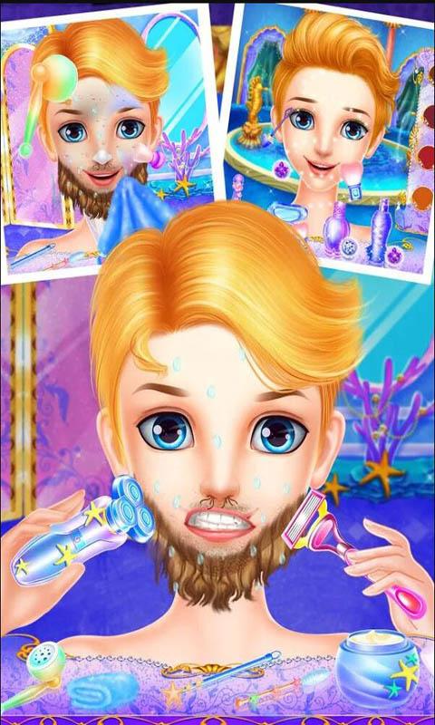 美人鱼公主换装游戏