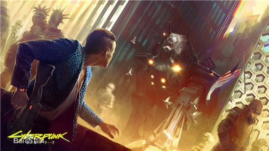 赛博朋克2077参加E3 2019游戏展
