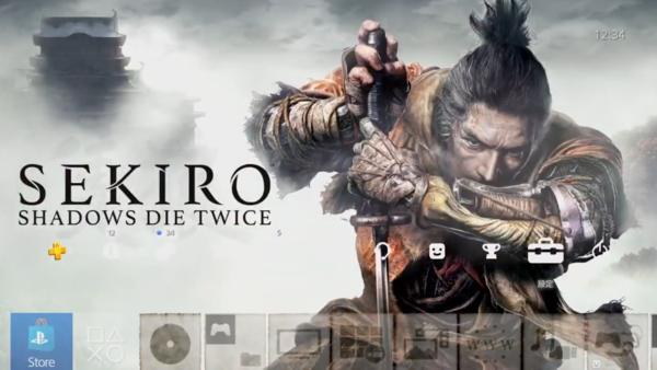 《只狼:影逝二度》PS4预购特典主题