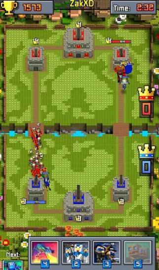 部落冲突皇室战争像素版
