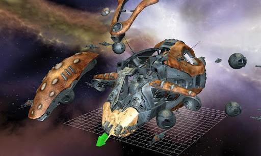 3D飞船拆解