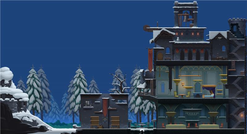 《猫和老鼠》新场景雪夜古堡曝光