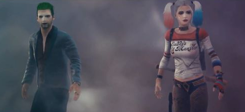 《绝地求生》自杀小队皮肤演示 小丑女性感在线