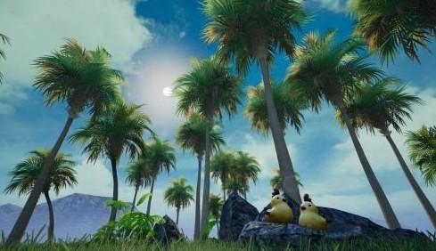 和平精英爱心岛小黄鸡位置攻略