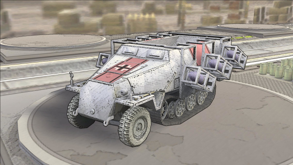战争与征服SWR40自行火炮详细介绍
