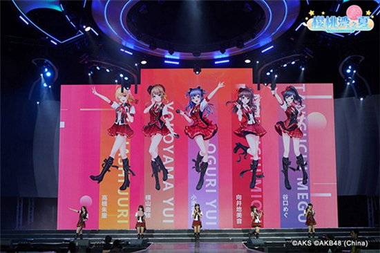《AKB48樱桃湾之夏》首批成员立绘