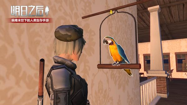 《明日之后》鹦鹉将被人类驯化