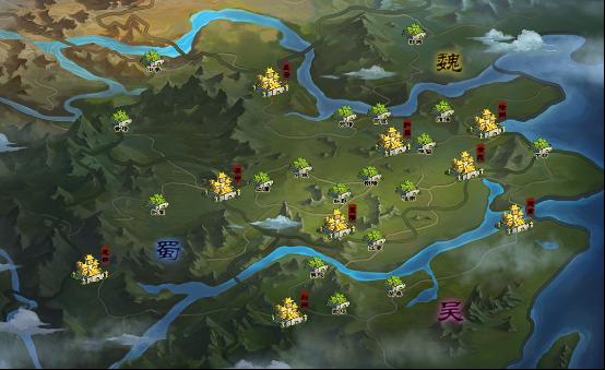 街机三国————决战九州最新地图图片